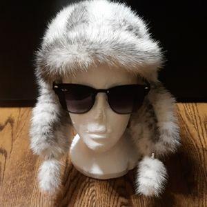 Genuine Fox Fur Trapper Hat
